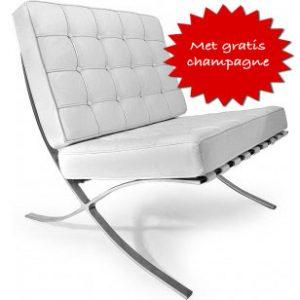 luxe witte stoel